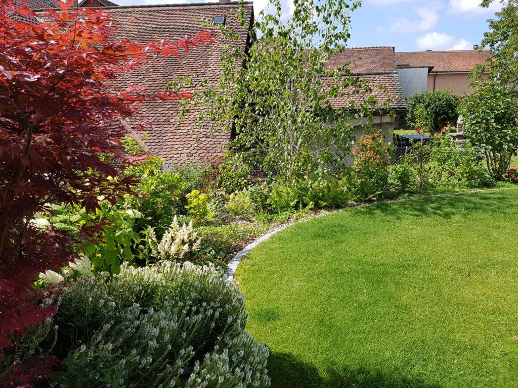 Agencement de jardin